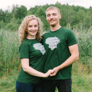 Marškinėliai Lietuva - Puoškis lietuviškai